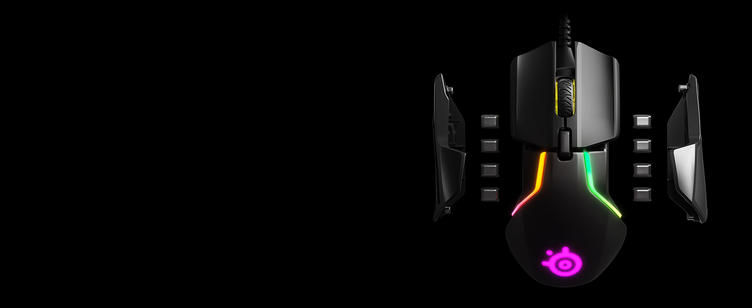 - Rival 600 removable weights