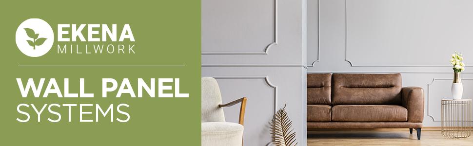 decorative wall panel, wall panel kits, wall panel frames, wainscot wall panels