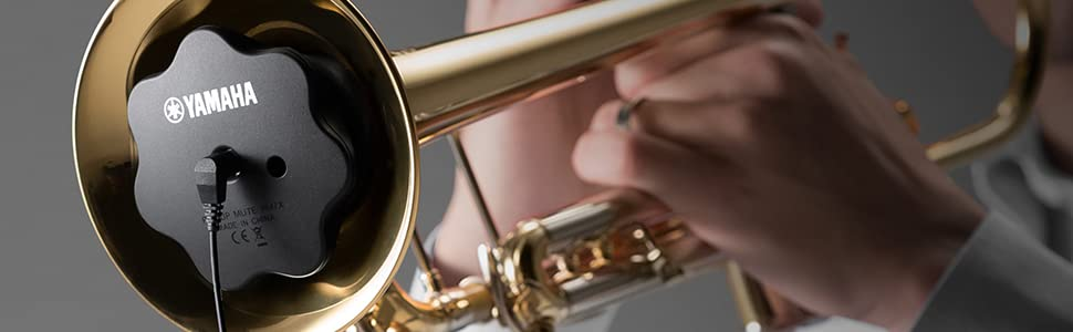 SILENT Brass inside of a trumpet being played