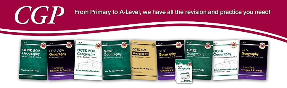CGP - From Primary to A-Level, we have all the revision and practice you need