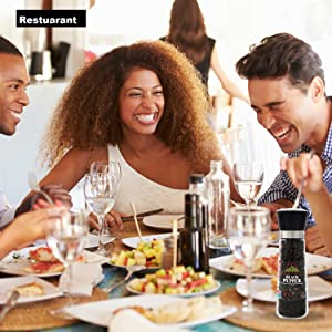 black pepper whole grinder, refillable pepper grinders, pepper corns grinders, peppercorn whole,