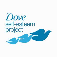 The Dove Self-Esteem Project Icon, 3 blue birds
