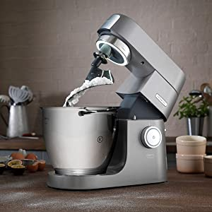 stand mixer with folding tool kenwood