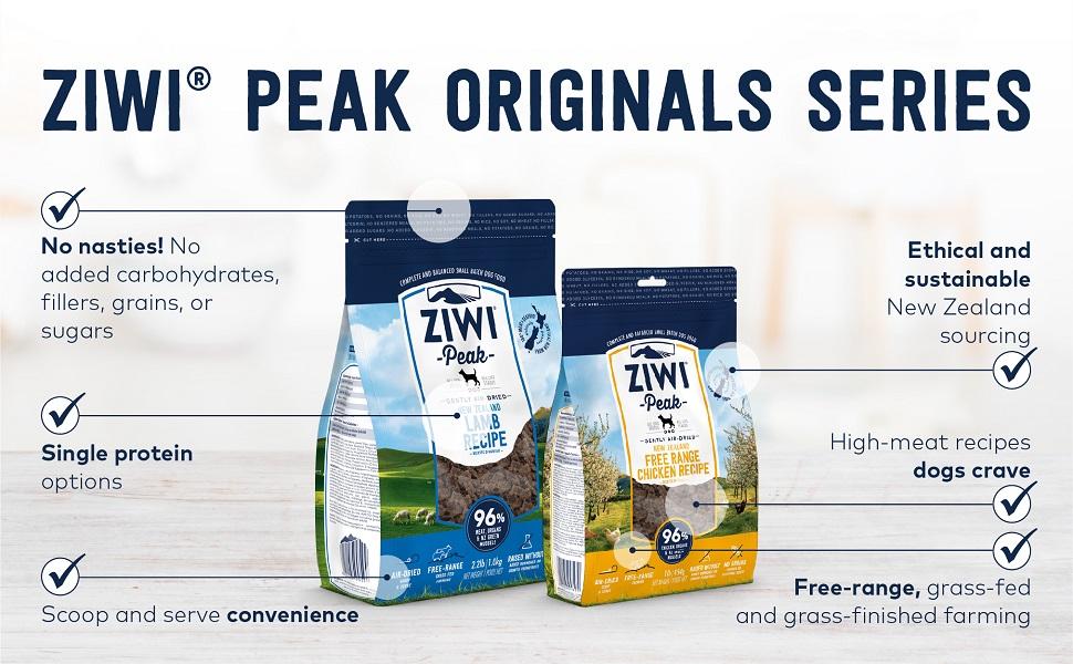 ziwi peak originals dog series dog air dried healthy dog food pet premium food cat superfood