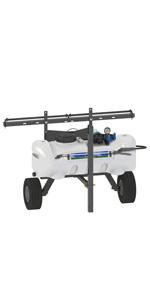 broadcast spraying, boom sprayer, swath, boomless, atv,utv, lawn, field, spot spray, 12v, trailer