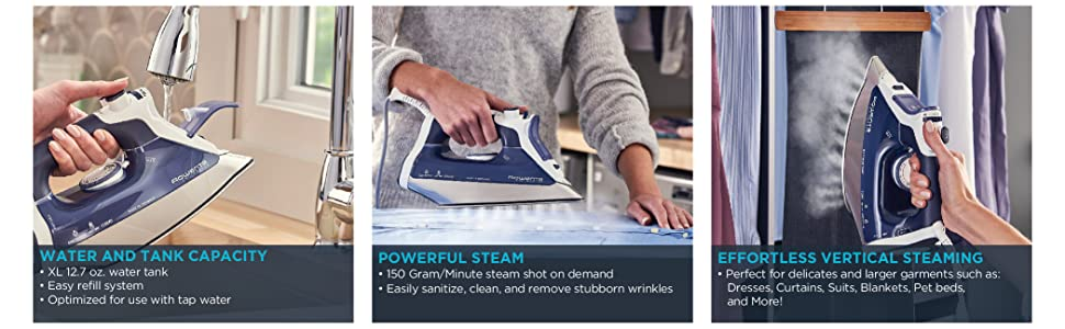 Rowenta, Pro Master, Iron, Steam Iron, Made in Germany