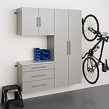 "HangUps 60"" Storage Cabinet Set B - 3 pieces"