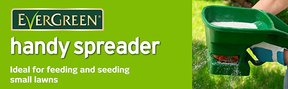 EverGreen Handy Spreader: Ideal for feeding and seeding small lawns