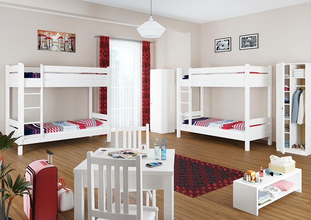 Etagenbett Für Erwachsene 100 Kg : Hochbetten für erwachsene und kinder schÖner wohnen