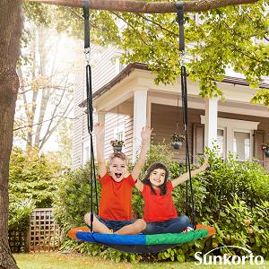 Round Tree Swing