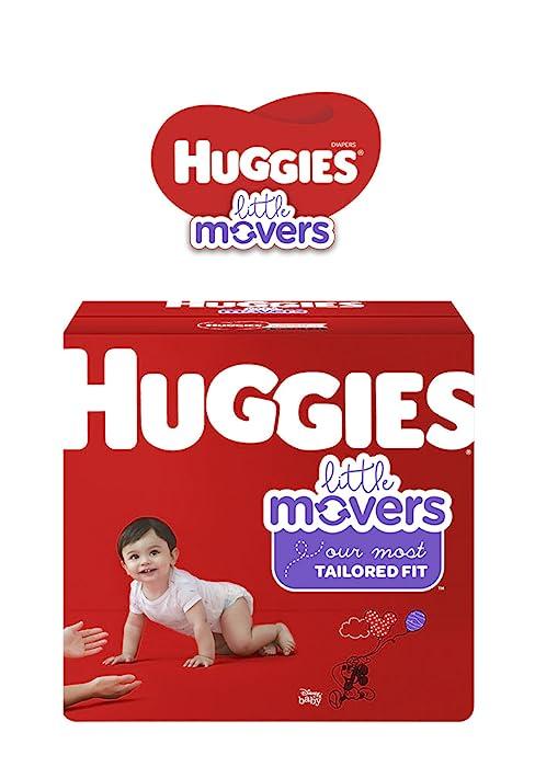 Huggies Little Movers Active Baby Diapers