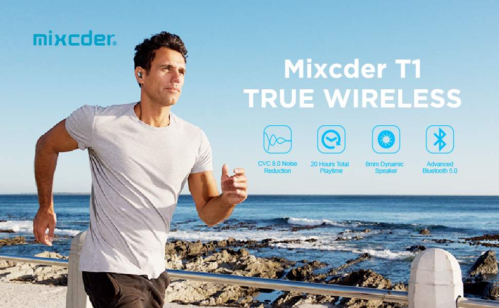 Mixcder T1 Ture Wireless Earbuds