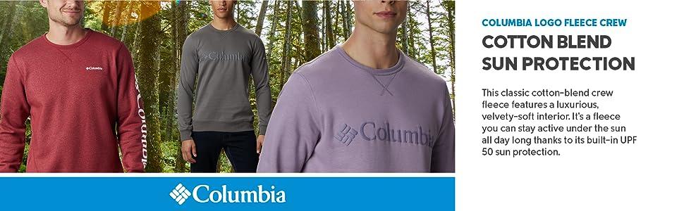 Columbia Men's Logo Fleece Crew Sweatshirt