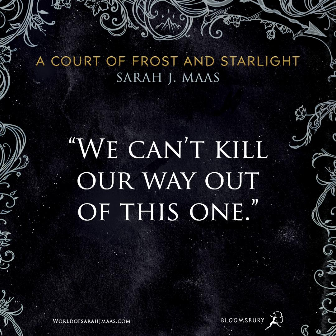 amazon com a court of frost and starlight a court of thorns and