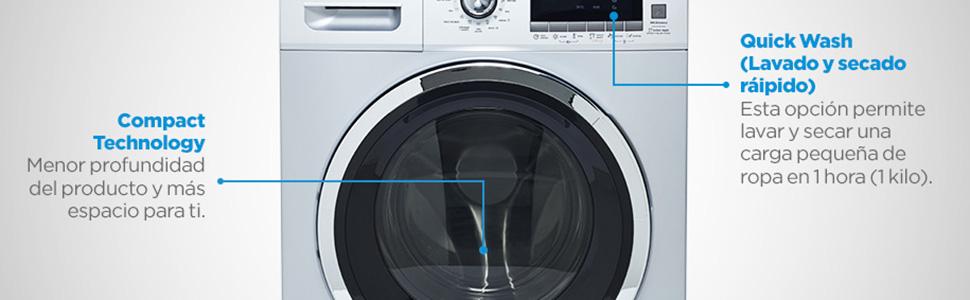 Compact Technology Menor profundidad del producto y más espacio para ti.