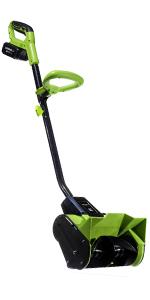 snow thrower blower shovel clean up winter weather sleet ice driveway house home sidewalk patio
