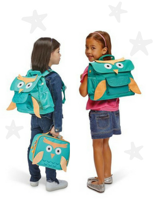Girls LED Sparkalicious Fairy Backpack /& Lunchbox  Combo