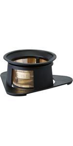 cores コレス コーヒードリッパー 丸山珈琲共同開発 ゴールドフィルター ブラック 1杯用 ペーパーフィルター不要 C210