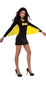Batgirl Winged Dress