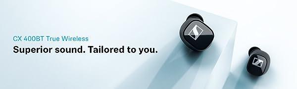CX 400BT True Wireless, Sennheiser, Earbuds