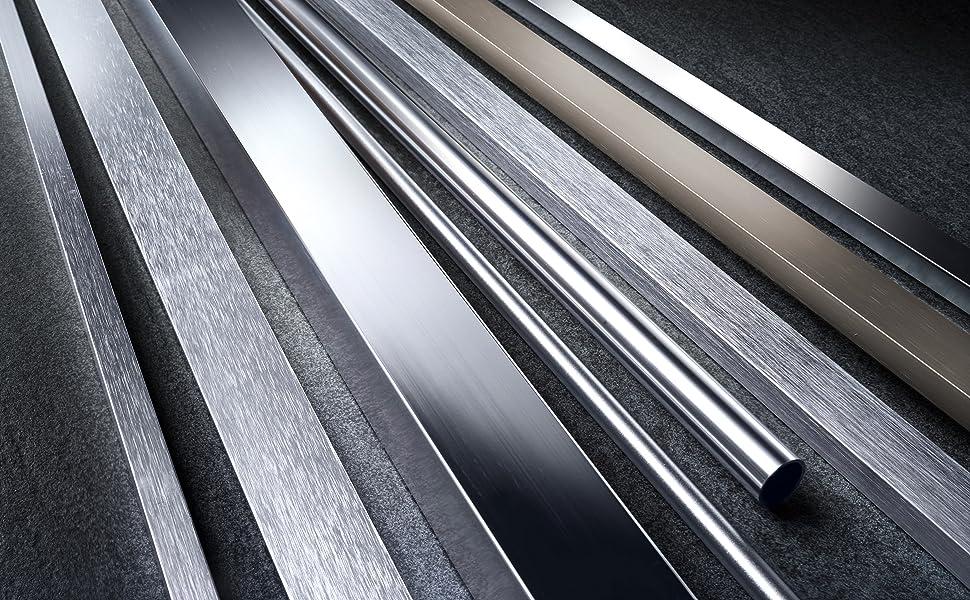 GAH-Alberts 470197 Flachstange natur Aluminium 2600 x 20 x 5 mm