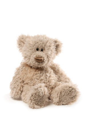 "GUND Sawyer Teddy Bear Stuffed Animal Plush, White, 15"""