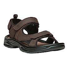 daytona sandal; flat sandal; water friendly sandal; water sandal