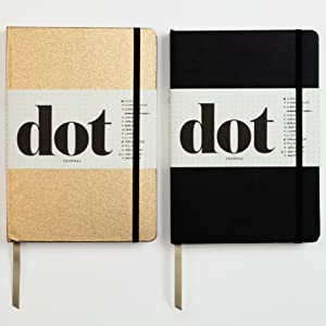 journal;dot journal;bullet journal;blank journal;gifts for mom;gifts for dad;planner;organizer