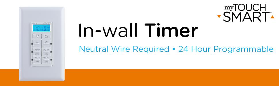 In wall timer, digital timer, digital in wall timer
