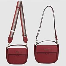bolsos bandolera color rojo para mujer