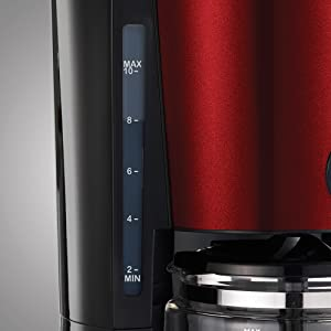 Morphy Richards Evoke Filter Coffee Machine Red 162522