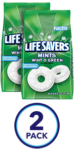LIFE SAVERS Wint-O-Mint Breath Mints Candy