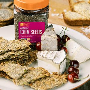 Organic Chia Seeds BetterBody Foods non-GMO gluten-free organic kosher