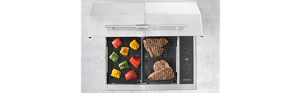 Amazon.com: Kenyon B70400 - Parrilla eléctrica para todas ...