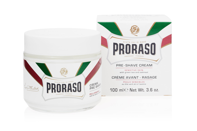 Amazon Com Proraso Pre Shave Cream Sensitive Skin 3 6 Oz Luxury