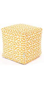 Aruba Cube Pouf