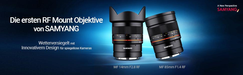 Samyang Mf 14mm F2 8 Rf Canon Eos R Manuelles Kamera