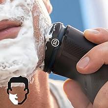 Rasieren Sie sich nass oder trocken
