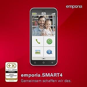 Emporiasmart 4 Dieses Smartphone Ist Genau Richtig Elektronik