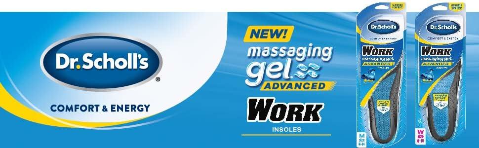 Dr. Scholl's Massaging Gel Advanced Work Insoles