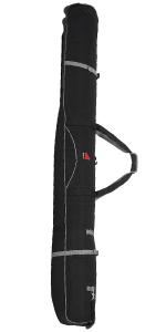 ski bag, wheeled ski bag, wheeling ski bag,double wheeled ski bag padded