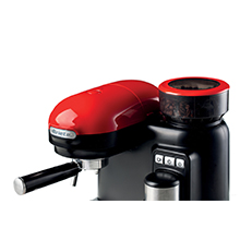 Ariete 1318 Cafetera Espresso Moderna con Molinillo de Café ...
