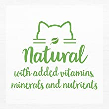 Natural with added vitamins, minerals and nutrients