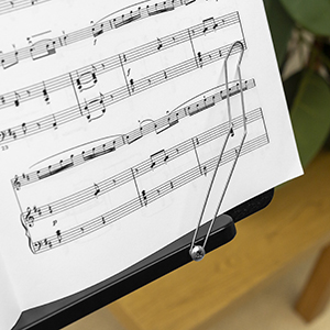 Atril de música plegable, soporte para partituras, soporte para partituras, soporte para partituras, soporte para partituras de tigre,