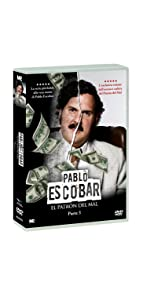 Pablo Escobar: El Patron del Mal Pt. 3 DVD