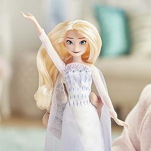 elsa musical singing doll, frozen 2