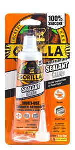 Gorilla Sealant Tube Clear