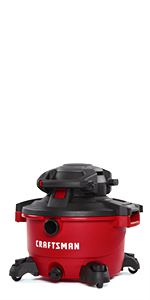 craftsman 12 gallon heavy duty vacuum with detachable blower