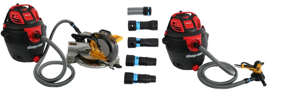 shop, vac, vacuum, hose, kit, set, power, tool, adapter