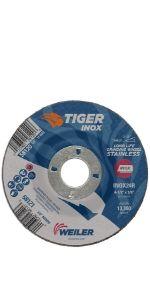 Tiger Inox Grinding Wheels